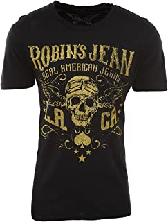 product image for Robin's Jean Tshirt Mens Style: AAA487-BLACK Size: XXL