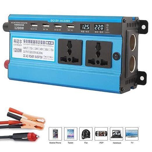 DJNBQ 500W 1200W 1600W 2200W 3000W inversor 12V / 24 a 220 ...