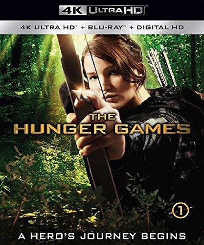 4K Blu-ray : The Hunger Games (With Blu-Ray, 4K Mastering, 2 Pack, 2 Disc)