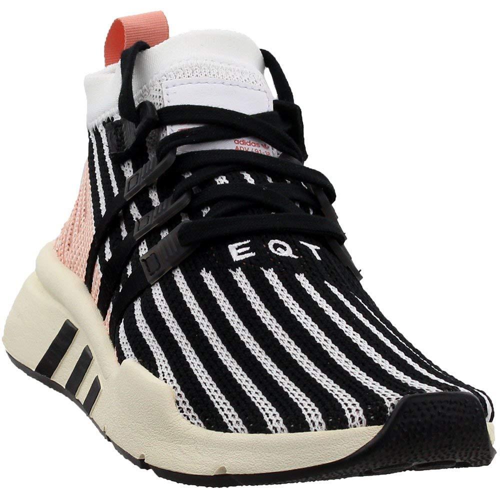 - adidas EQT Support Mid Adv Primeknit (Cloud White Trace Pink) Men's shoes AQ1048