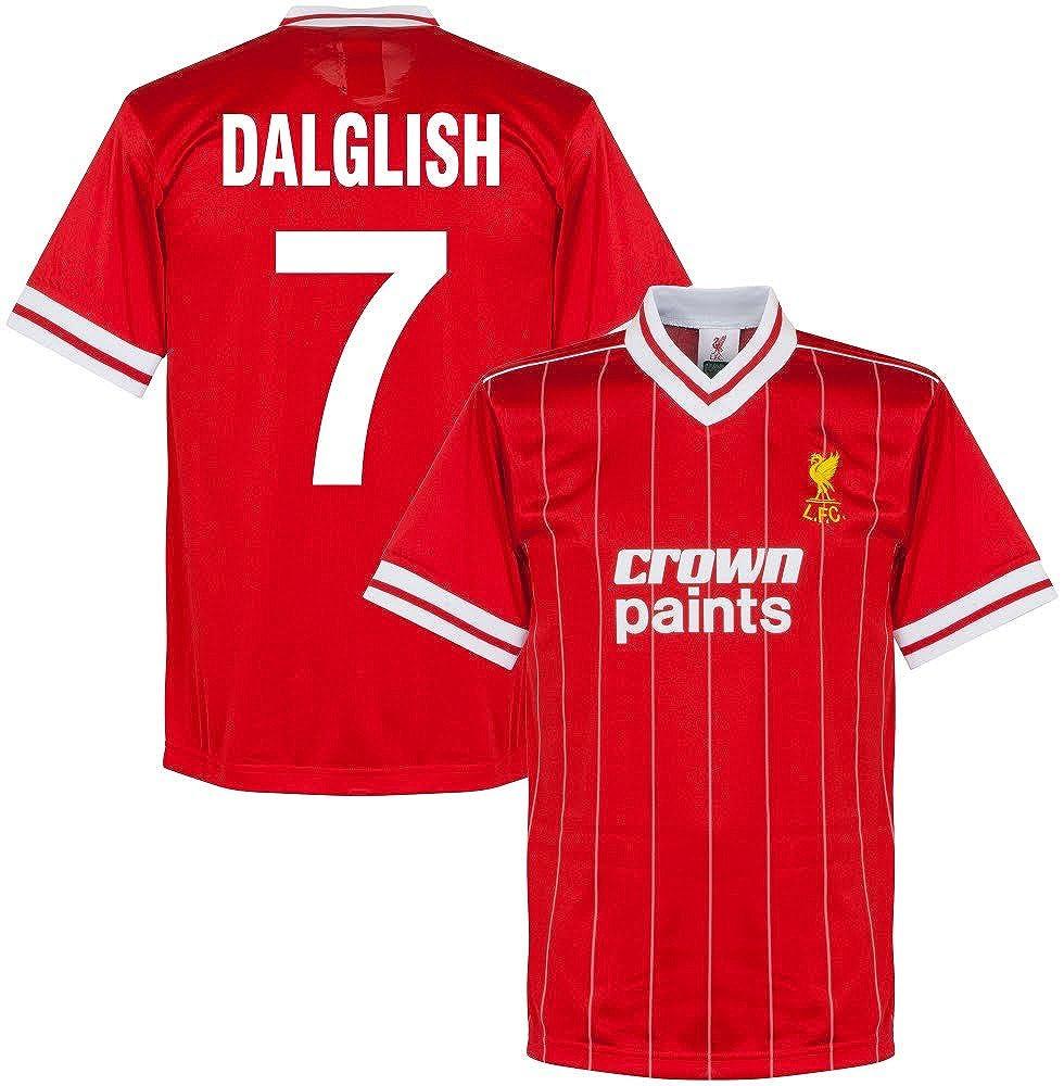 1982 Liverpool Home Retro Trikot + Dalglish 7