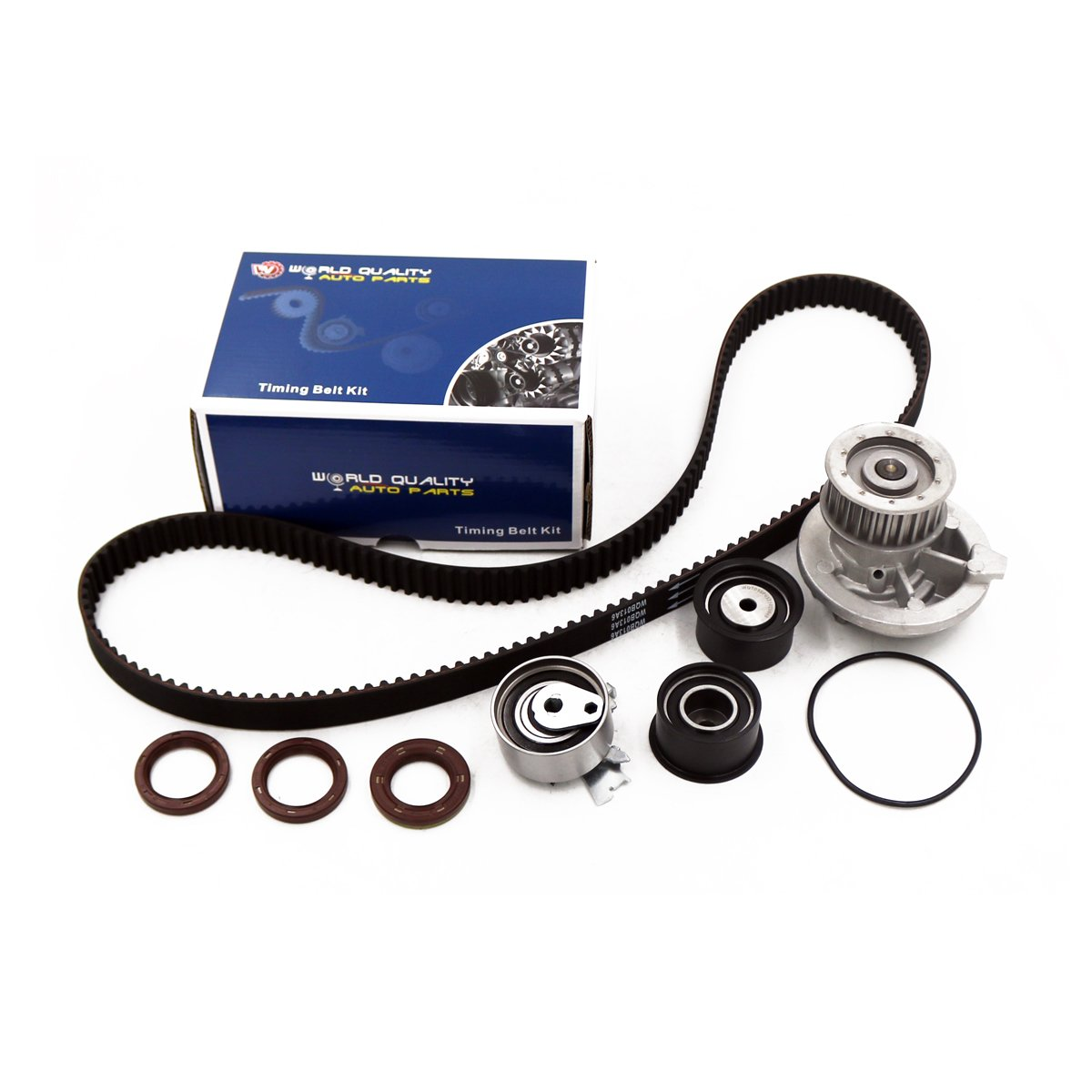 Timing Belt Kit Water Pump W Tensioner For 1999 2007 Chevrolet Optra 2000 Saturn Daewoo Nubira