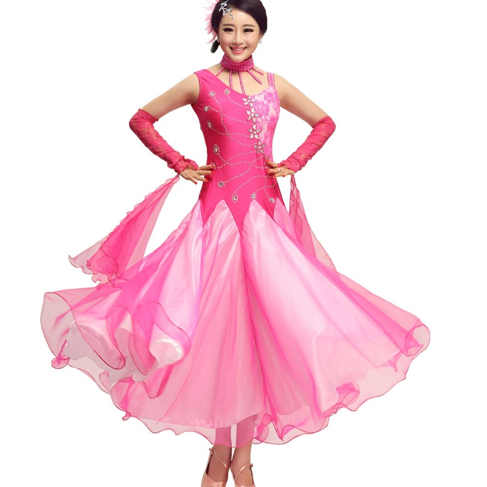 Ärmellos Ballsaal Tanz Wettbewerb Kleider Für Frauen Performance Walzer Modern Modern Modern Tanzen Outfit B07C4PDR95 Bekleidung Neue Produkte im Jahr 2018 305b03