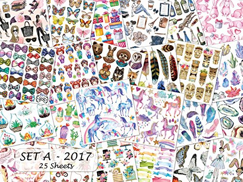 Violette Stickers Set A Sticker Collection - 25 Sheets ()