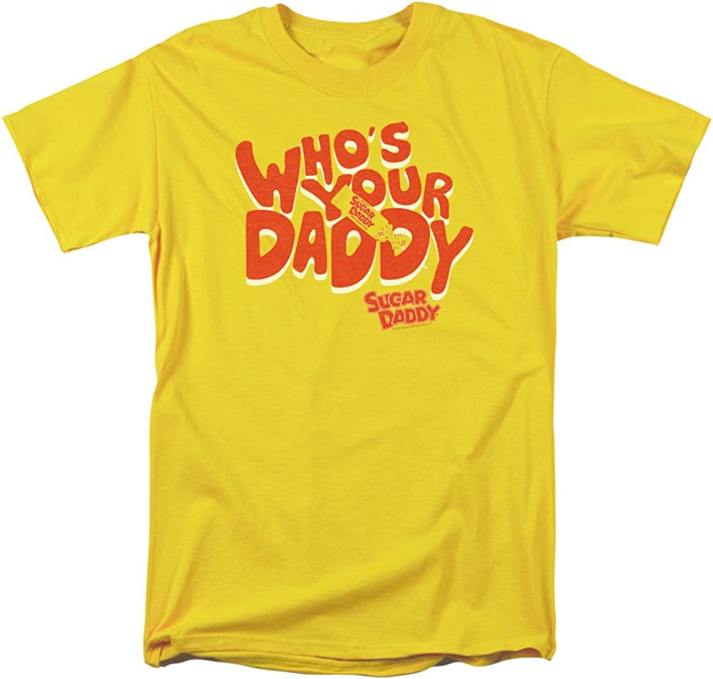 Tootsie Roll Chocolate Candy Who's Your Daddy Vintage Style Adult T-Shirt Tee