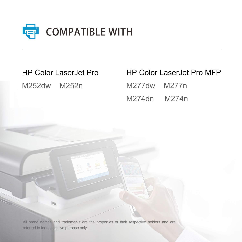 MyCartridge Compatible HP 201X CF400X Negro Toner para HP Color ...