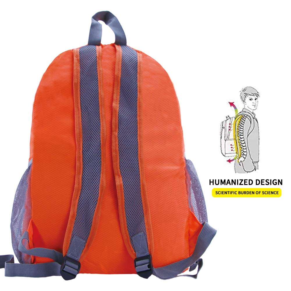 travel inspira Ultra Lightweight Packable Backpack Water Resistant Hiking Daypack,Small Backpack Handy Foldable Camping Outdoor Backpack Little Bag