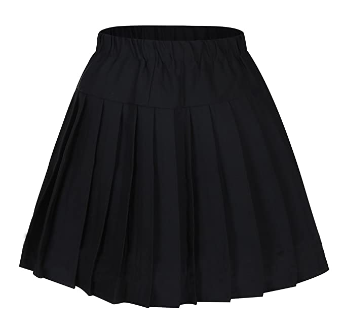 f951d5bafa2 Genetic Los Angeles Girl`s Short Navy Sailor Suit School Uniform Skirts  Costumes Black