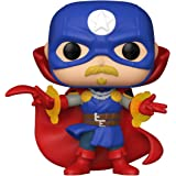 Funko Pop! Marvel: Infinity Warps - Soldier Supreme Glow in The Dark, Amazon Exclusive