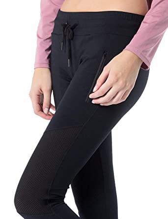 7c8b2ba29d2691 Cloudvitality Lace Up Leggings, Women Stretchy Cincher Sports Running  Jogger Tights Pants Slim Fit Side