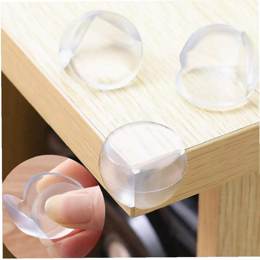 Nicedier Kugel-Form-weich-PVC-Baby-sicherheits-Schreibtisch Tischkantenschutz Kantenschutz Ecksto/ßd/ämpfer Corner Kissen F/ür Tische M/öbel F/ür Scharfe Ecken 4pcs