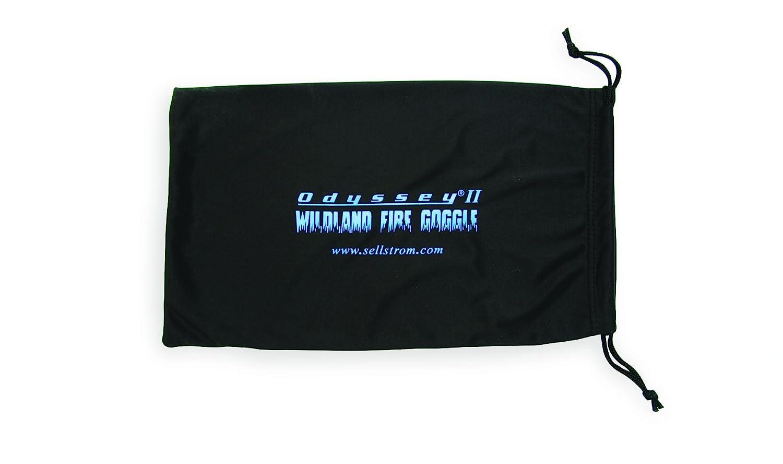S79906 Black Sellstrom Protective Eyewear Micro-Fiber Bag for Wildland Fire Eye Goggles with Drawstring