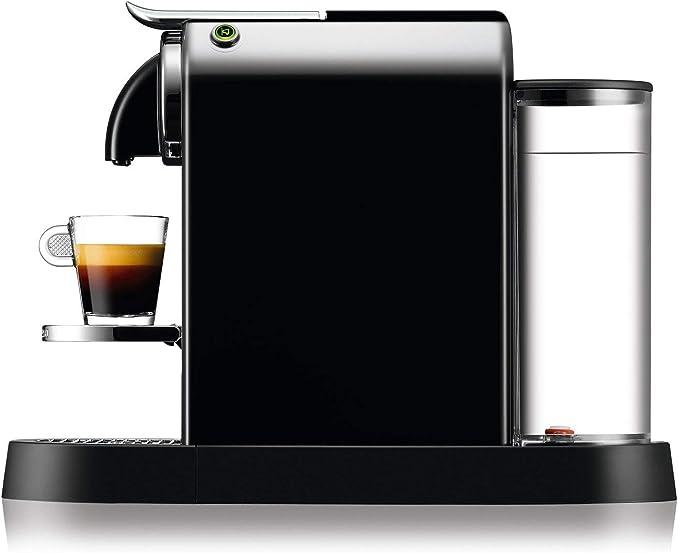 Nespresso DeLonghi Citiz EN167.B - Cafetera monodosis de cápsulas Nespresso, compacta, 19 bares, apagado automático ...