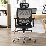 Topeakmart Mesh Ergonomic Swivel Computer Office Chair