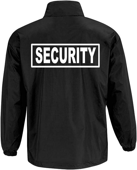Wixsoo Giacca Impermeabile Security Uomo