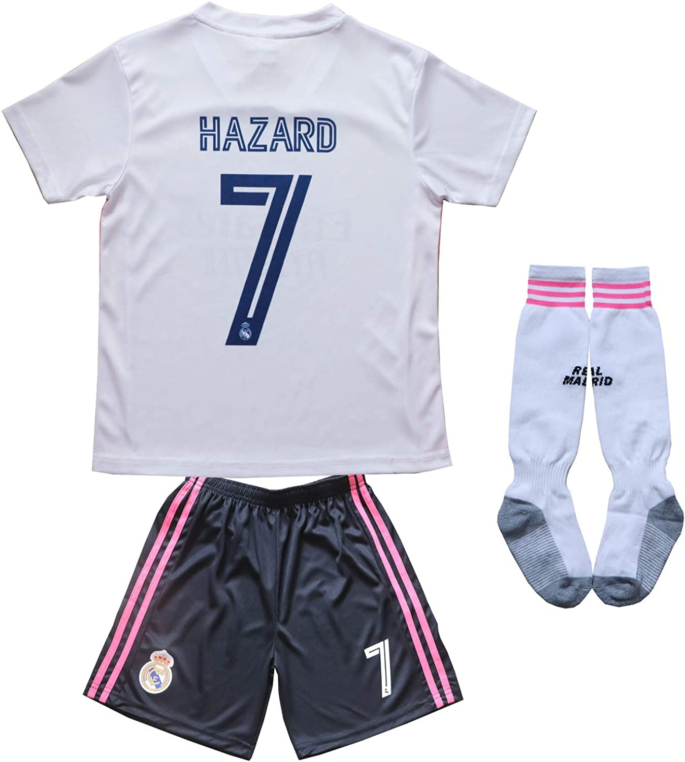 Top 9 Ronaldo Real Madrid Home Kid Soccer Jersey