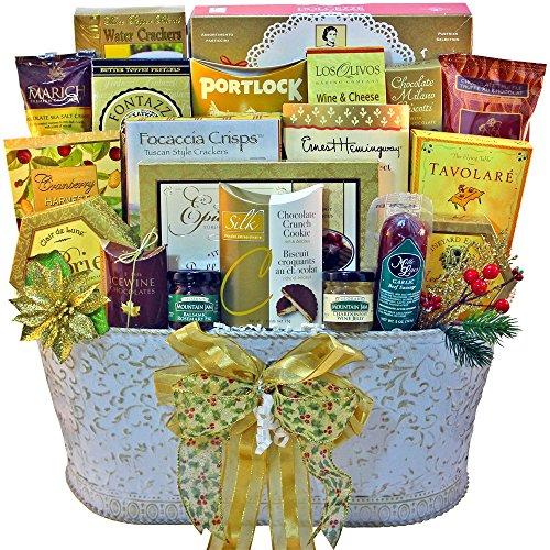 Resounding Joy Gift Basket (White)