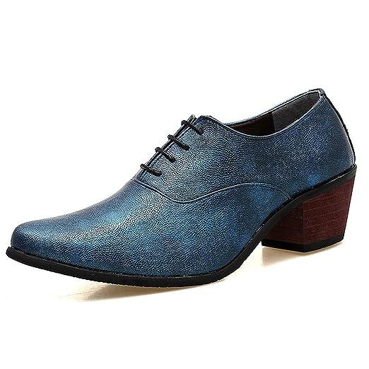 HILOTU Zapatos Formales De Moda para Hombres Zapatos De ...