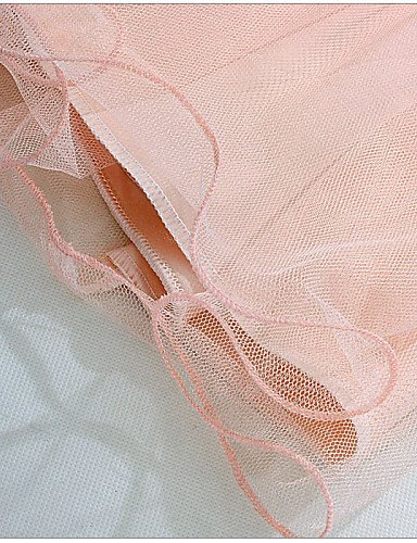 PU&PU Robe Aux femmes Grandes Tailles Grandes Tailles / Soirée Mi-long Autres / Satin , white-one-size , white-one-size