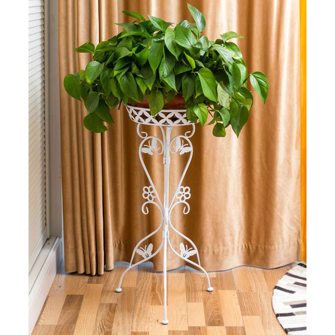Rolanli Blumenst/änder Metall Blumenregal Dekor f/ür Innen Outdoor Garten Balkon