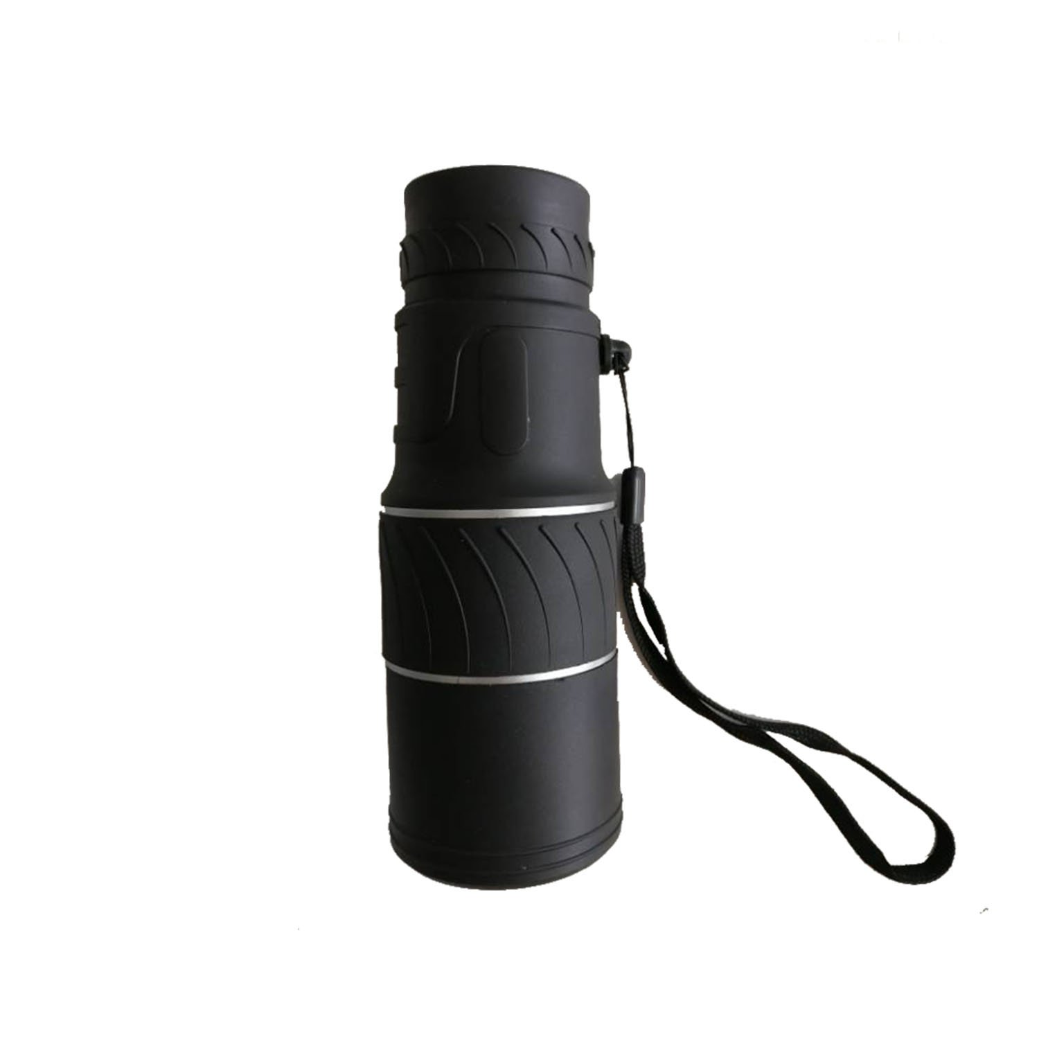 BOW 16x52 Zoom Black Waterproof Optical Monocular Telescope for Outdoor Camping Travel Taking Photos
