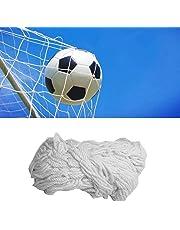 Tbest Rete da Calcio per Calcio, Rete in Fibra di Polipropilene Full Size Rete da Calcio per Calcio Ricambio Sportivo Rete per Porta da Calcio per Allenamento Sportivo