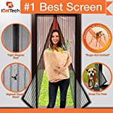 Kyпить Magnetic Screen Door, Full Frame Velcro. Fits Door Openings up to 34
