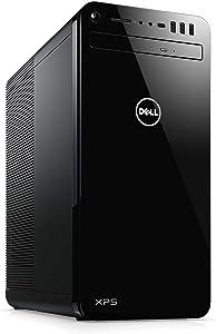 Dell XPS 8930 Desktop Computer/ 8th Gen Intel Hexa-Core i7-8700 up to 4.6GHz/ 16GB DDR4 RAM/ 1TB 7200RPM HDD + 512GB SSD/GeForce GTX 1060 6GB/ AC WiFi/Bluetooth 4.2/ Windows 10 Professional (Renewed)