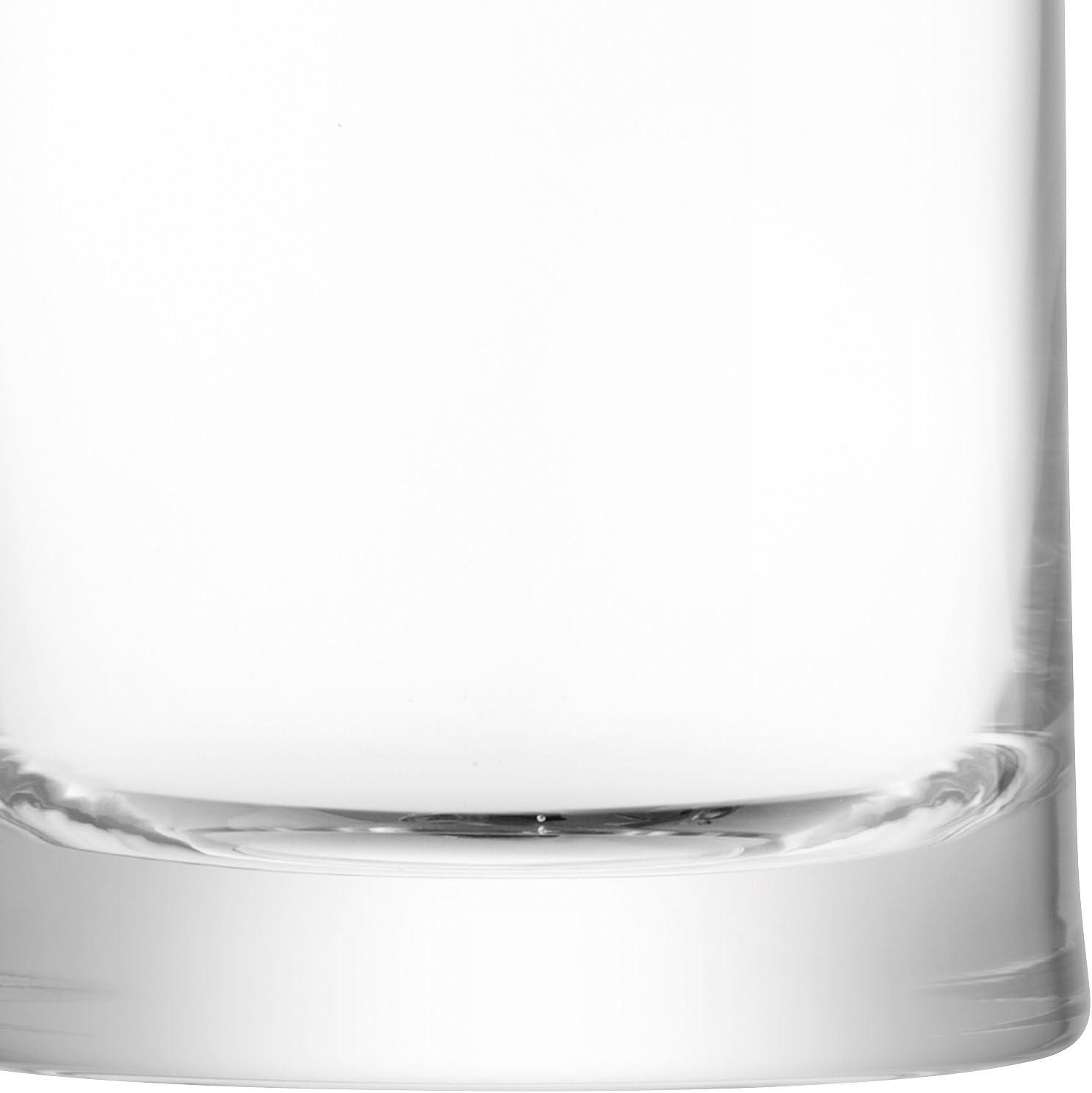 LSA International Gin Zahnputzbecher 310/ml transparent X 2 Set von 2