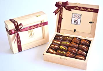 Two Layer Filled Dates 32 Pc Wooden Photo Frame Box
