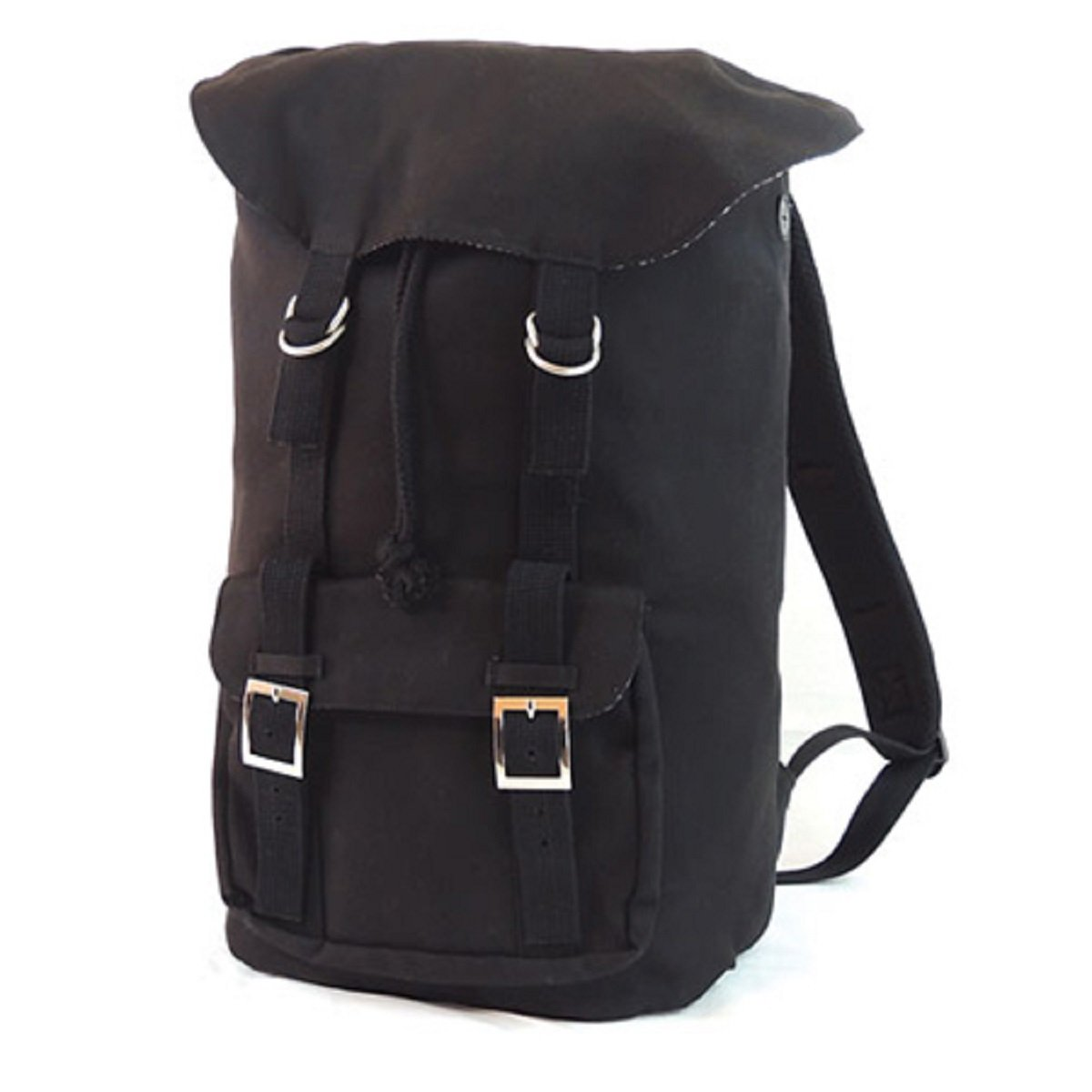 VOYAGER CANVAS BACKPACK, Black, Case of 6 by DollarItemDirect