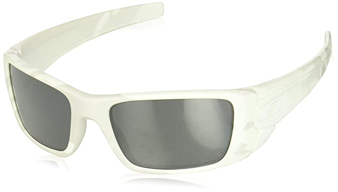 5dbb31f376 Oakley Men s Fuel Cell Sunglasses White Black. Roll over image to zoom in