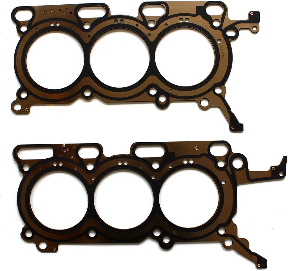 ECCPP Cylinder Head Gasket Set fit 2008-2017 Mazda Ford Lincoln 3.7L DOHC 26544PT 26543PT Engine Head Gaskets 058657-5211-1714398231