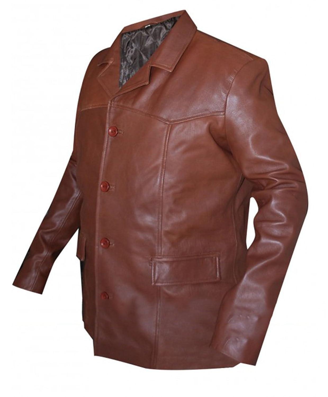 Henry Standing Bear Longmire Lou Diamond Faux Jacket