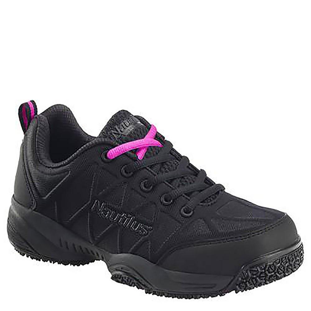 Nautilus Lightweight Composite Toe Slip Resistant Women's Oxford 7.5 C/D US Black