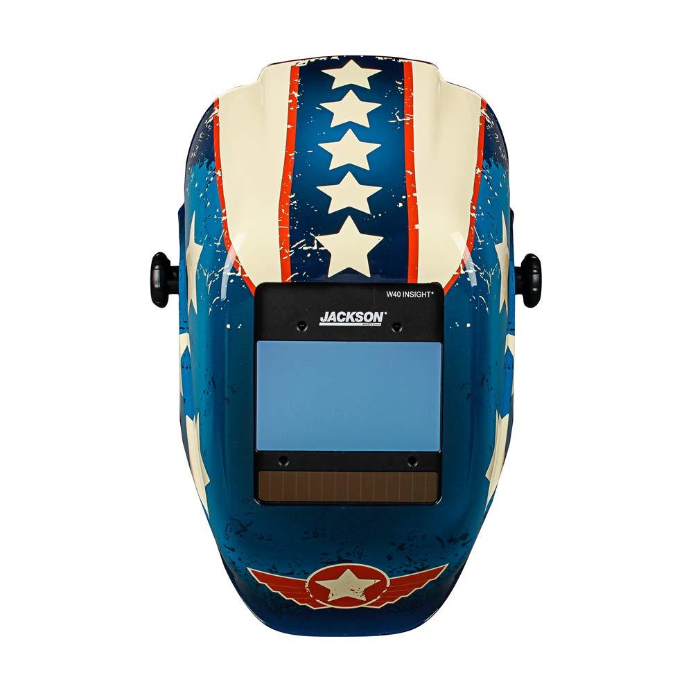 Jackson Safety Insight Variable Auto Darkening Welding Helmet (46101) by Jackson Safety