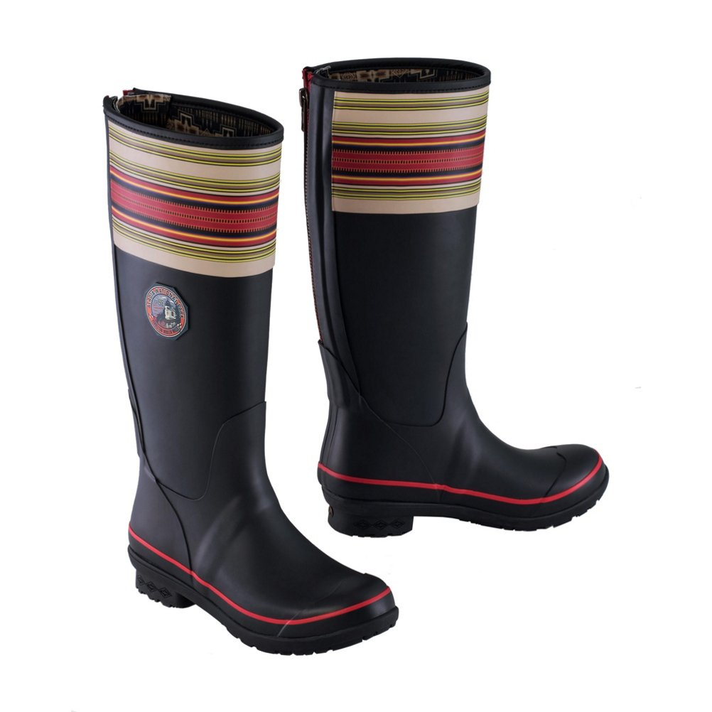Pendleton NATIONAL PARK TALL RAIN BOOTS B0772VZHD8 6 B(M) US|Black