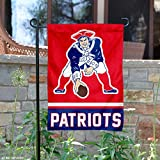 WinCraft New England Patriots Retro Pat Patriot Double Sided Garden Flag