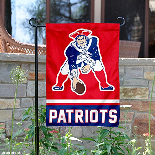 New England Patriots Retro Pat Patriot Garden Flag and Yard