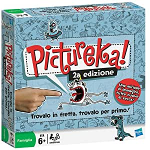 Hasbro Pictureka 2a edición - Juego de mesa [Importado de Italia]