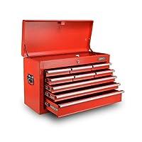 Giantz 9 Drawers Mechanic Toolbox Storage Chest Cabinet Garage Trolley Tool Box