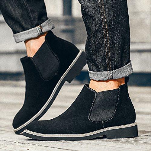 black chelsea velvet martin moda stivali uomini gli stivali stivali boots 43 e gli sono di c6RcPFzfq