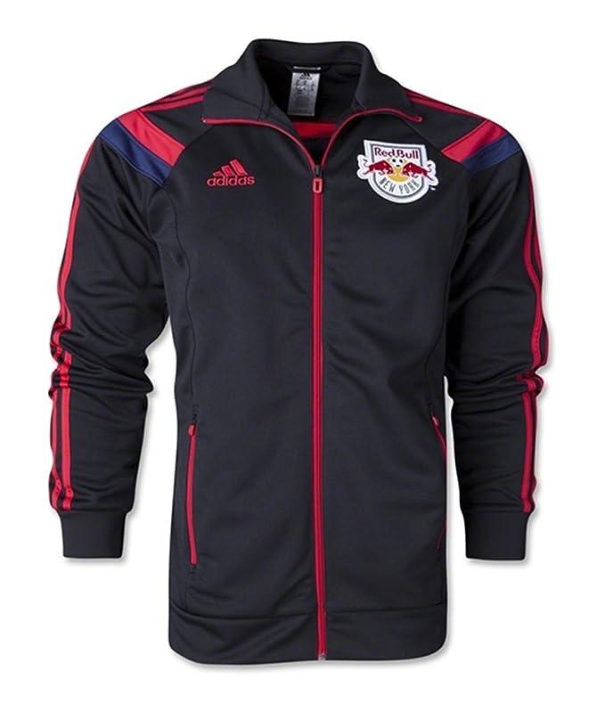 adidas New York Red Bulls Himno Chaqueta XLL: Amazon.es ...