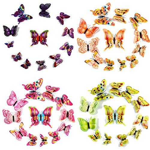 Givovanni Butterfly Colorful Butterflies Removable product image