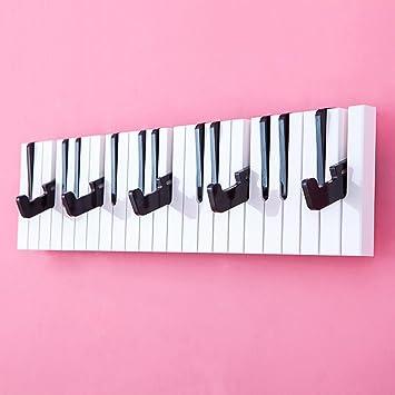 Chai Jia - Perchero de piano, percha de pared para ...