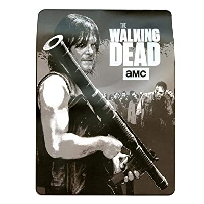 The Walking Dead Seasons Games & Gifts (With Daryl & Bazooka) Fleece Throw Blanket / Tapestries Decorative Wall Hanging - Sofa / Bed Kids Blanket: Home & Kitchen
