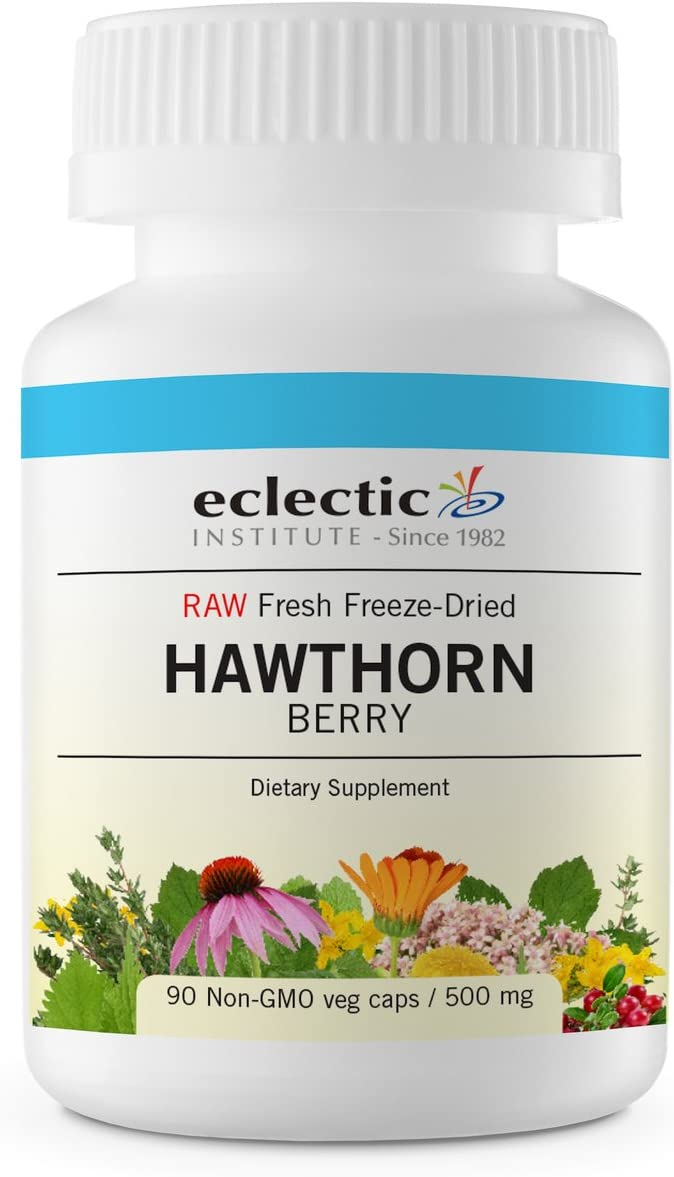 Eclectic Hawthorn Berry Freeze Dried Vegetables, Blue, 90 Count