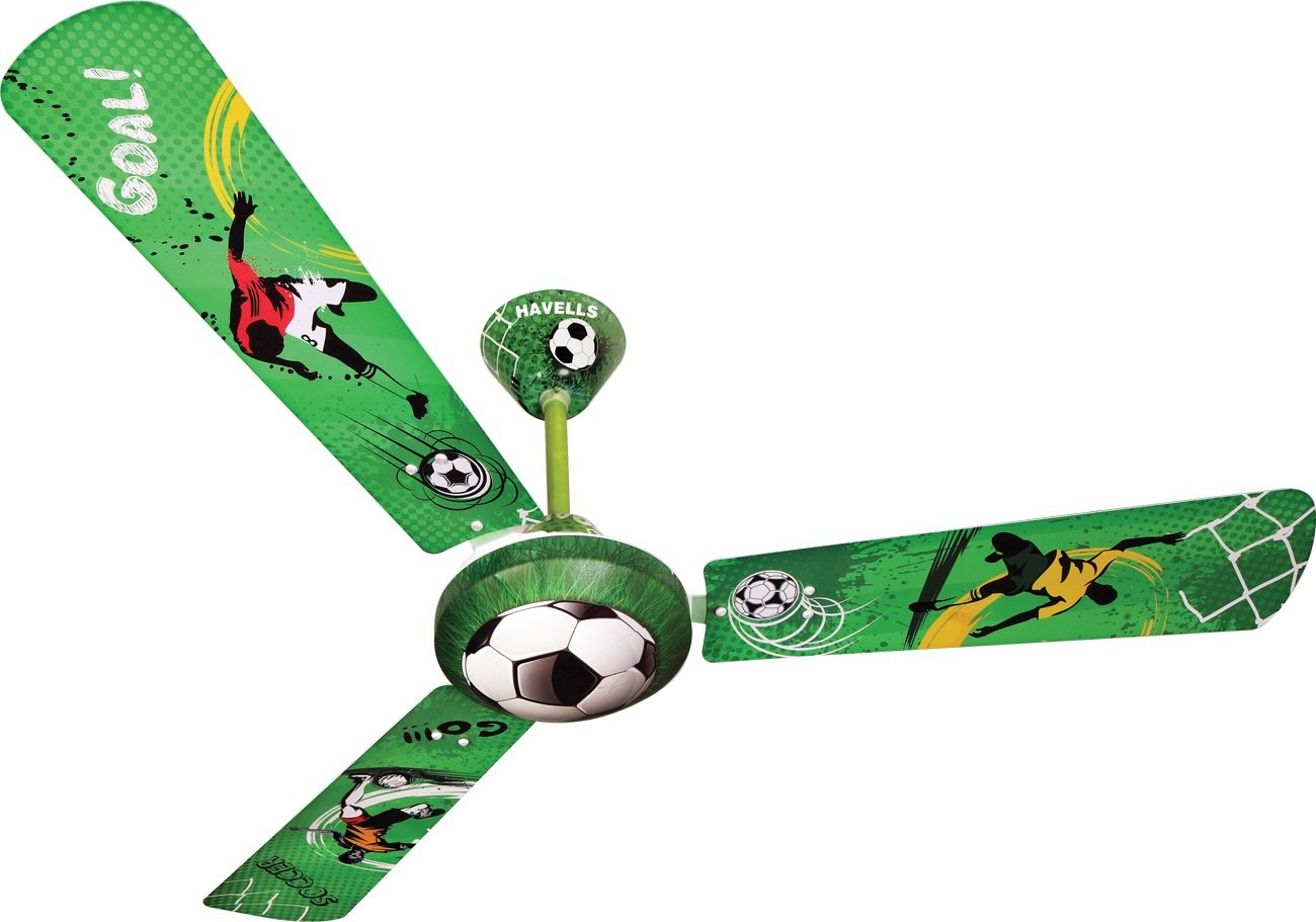 Buy havells fhcsofbgrn48 soccer star hvlfn 1200mm fan green buy havells fhcsofbgrn48 soccer star hvlfn 1200mm fan green online at low prices in india amazon mozeypictures Image collections
