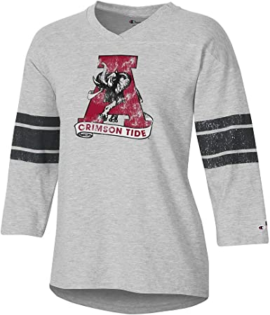 Elite Fan Shop NCAA Womens V Neck Tshirt Team