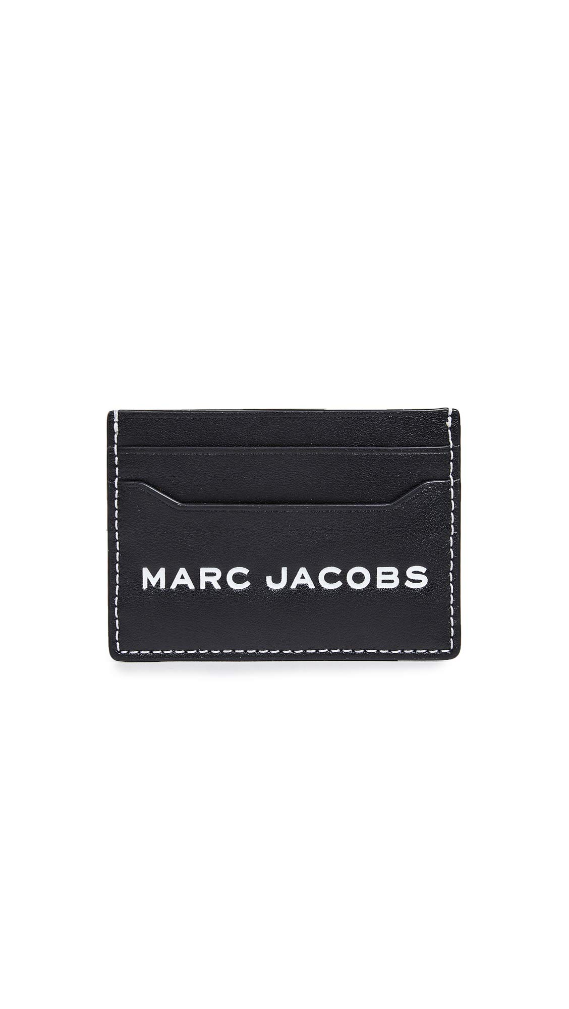 Marc Jacobs Women's Snapshot Card Case, Black, One Size
